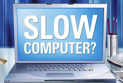 Slow computer repair service