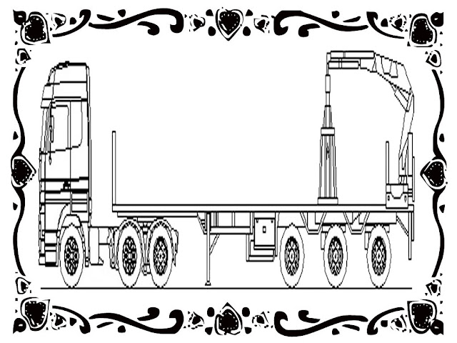 free printable crane coloring pages