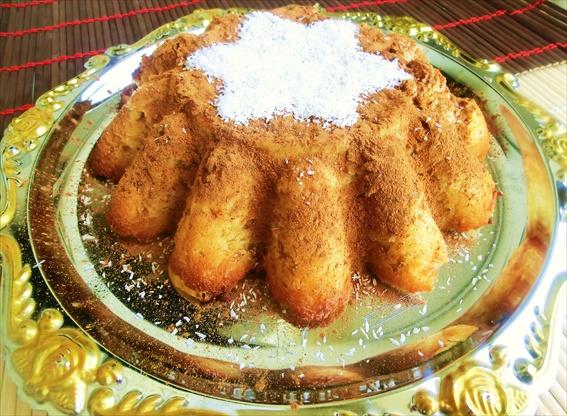 Budino di mele con cocco / Apple pudding with coconut | Ricette di ...
