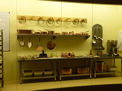 The kitchen display in a Royal Welcome  2015 exhibition at Buckingham Palace  Photo © Andrew Knowles