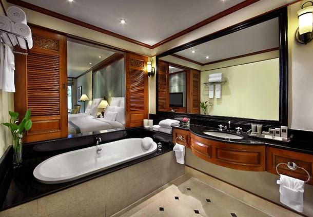 布吉JW Marriott酒店Deluxe Garden浴室