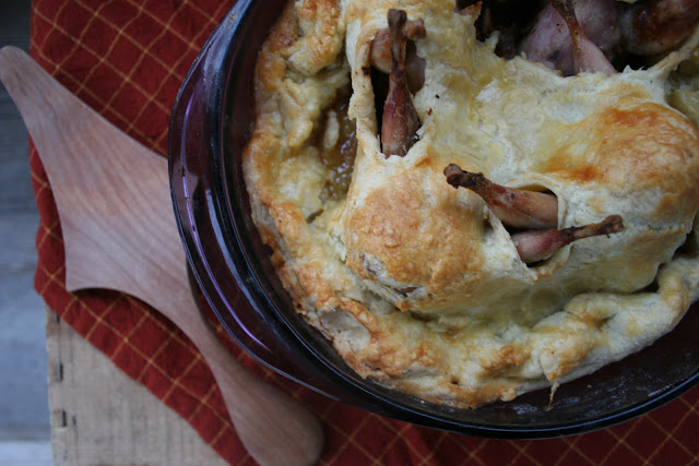 Stargazy Quail Pie | Nothing in the House