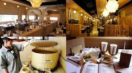 مطعم مصنوع بالكامل من الكارتون فى تايوان