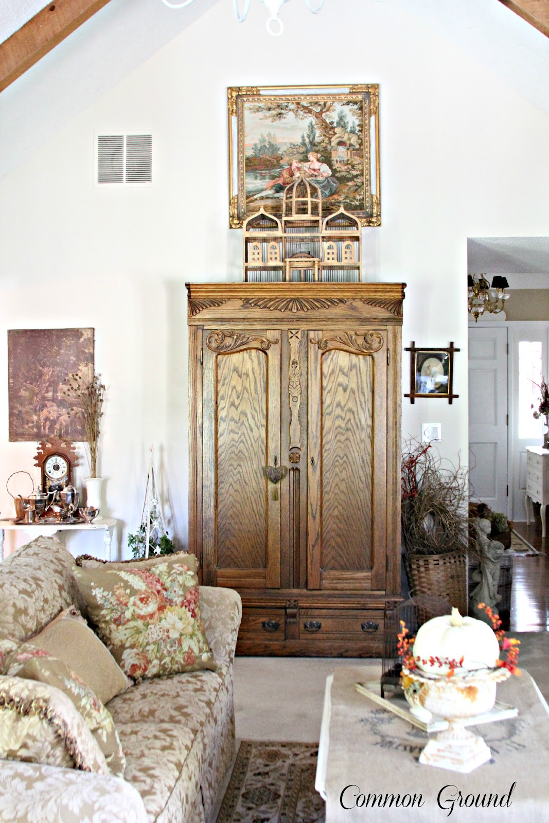 vintage inspired french country home tour debbiedoo u0027s