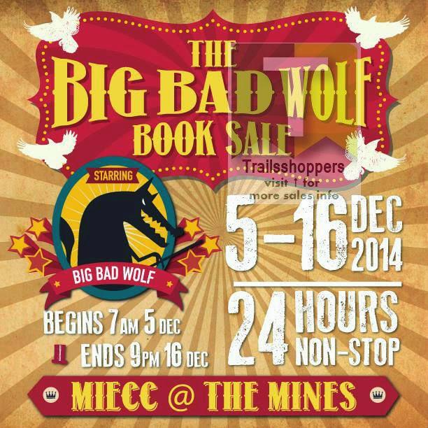The Big Bad Wolf Books Sale MIECC MINES