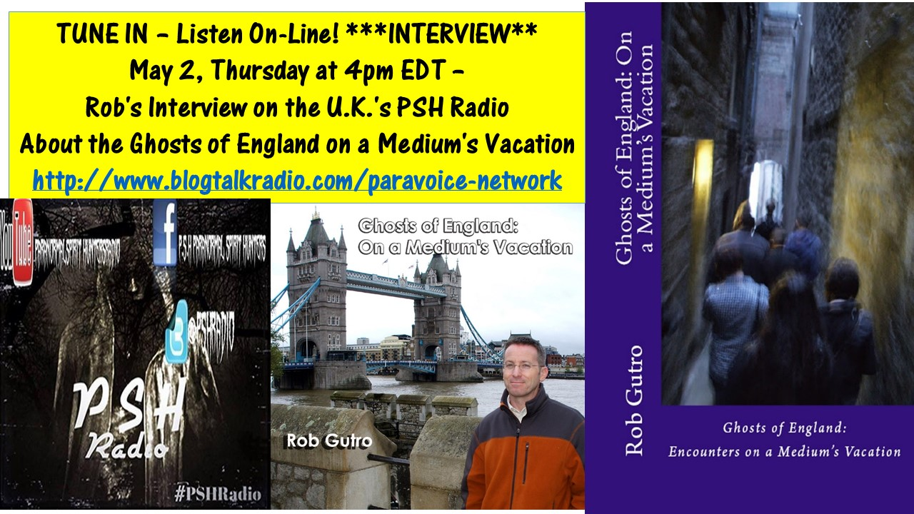 PODCAST on PSH UK Paranormal Radio