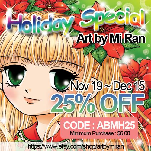 ArtbyMiran Holiday Special ...