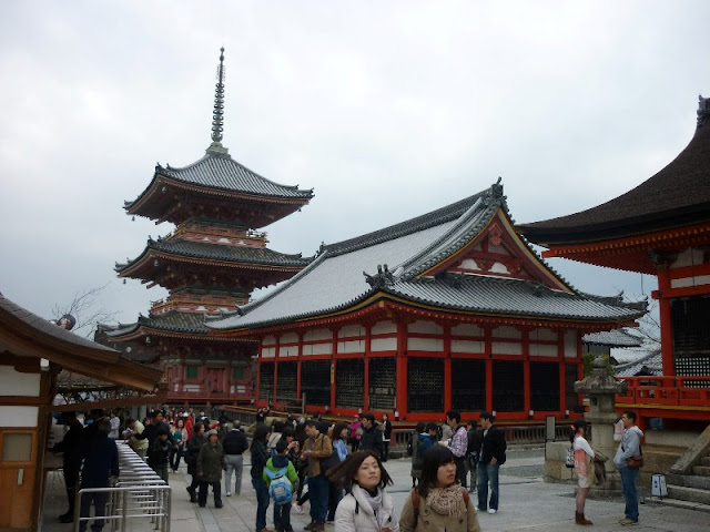 cosa vedere a kyoto, kiyomizu-dera