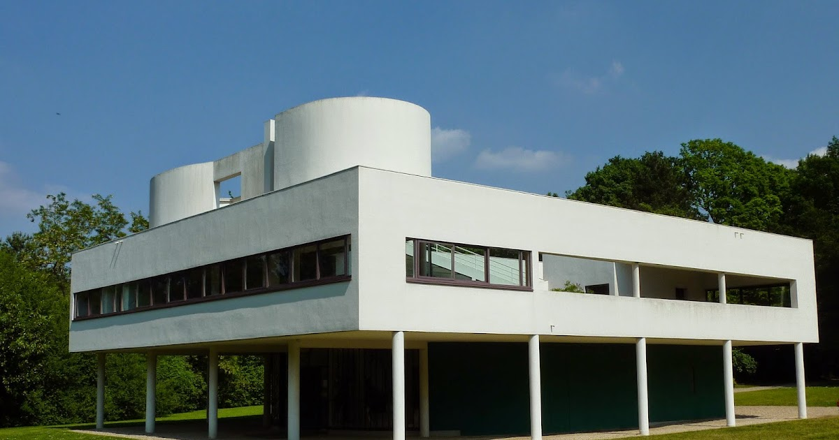 Villa savoye the five points of architecture archi new for 5 points of architecture
