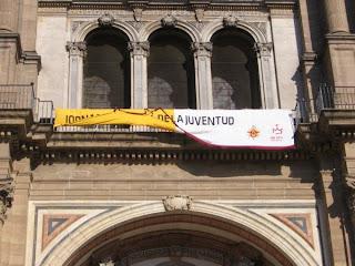 Contaminación Visual en la Fachada de la Catedral de Málaga