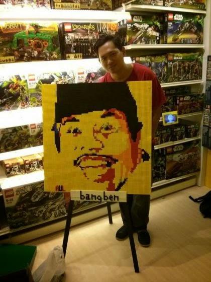 5000 Keping Bricks Lego Buat Jokowi