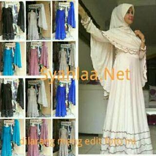 Baju Muslim Trendy Gamis Syar 39 I