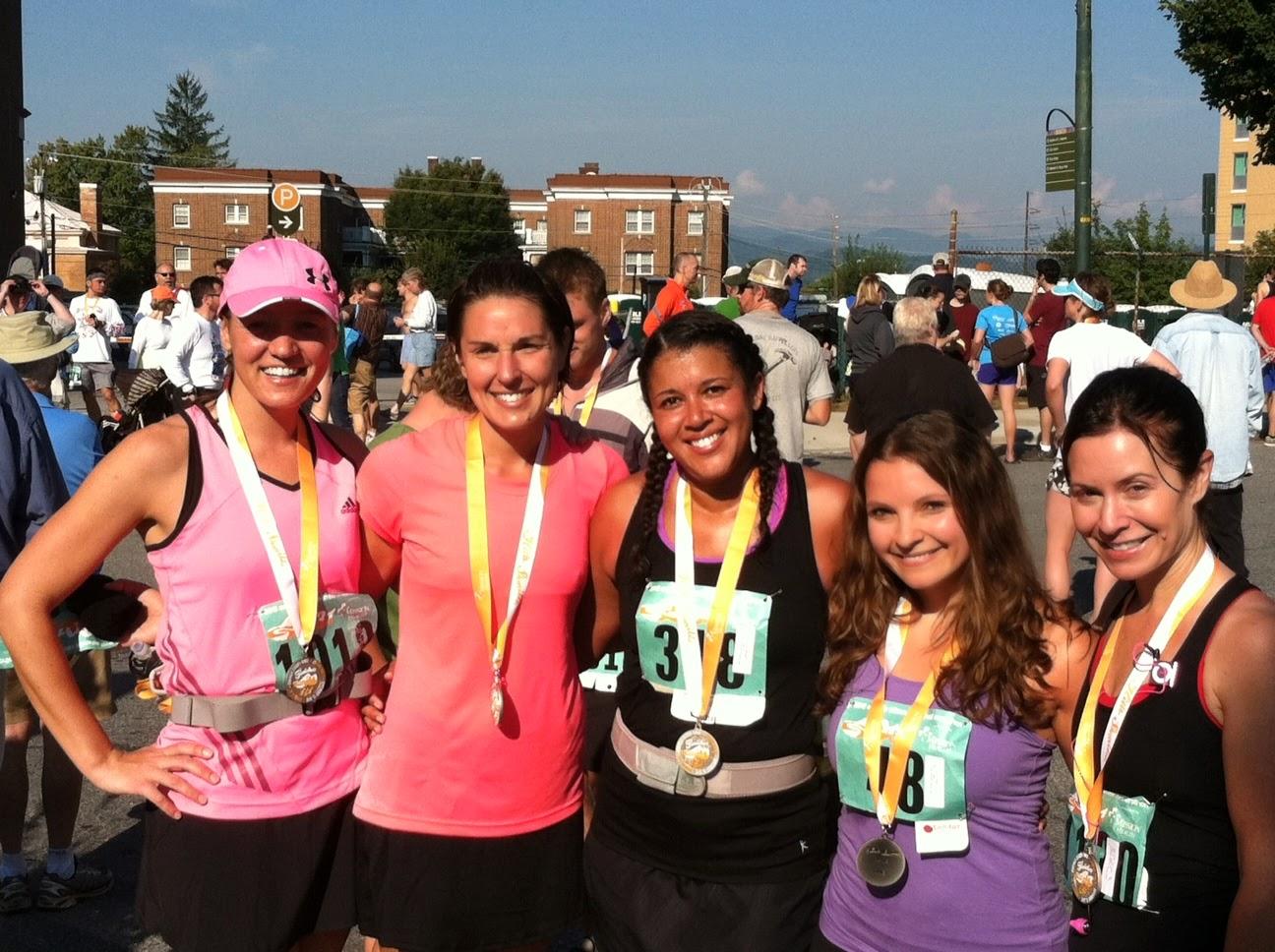 2012 Asheville Half Marathon