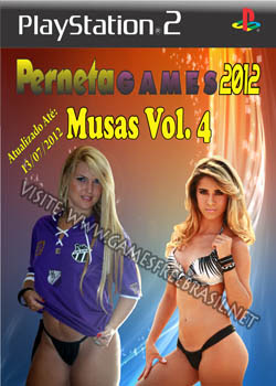 PS2 - Futebol Musas Vol 4 - Perneta Games 2012