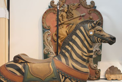Zebra •Merry Go Round Museum • Sandusky, Ohio