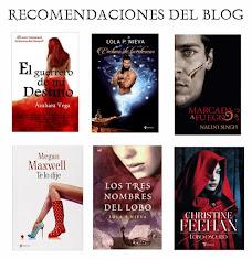Desde Pasión por la Novela Romántica, recomendamos....