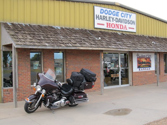 Jim S Motorcycle Trips Day 5 Wednesday August 3 Dodge City
