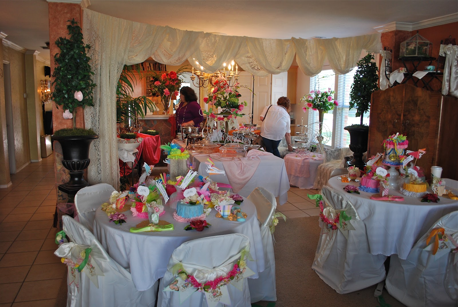 High Tea Table Decor : The decor for this event was in theme for the High Tea and felt light ...