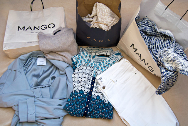 Maastricht shopping haul Mango Zara