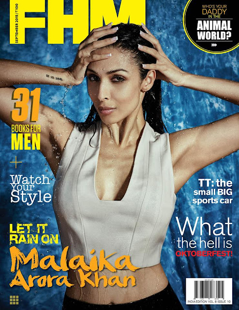 Actress, Model @ Malaika Arora Khan - FHM India, September 2015
