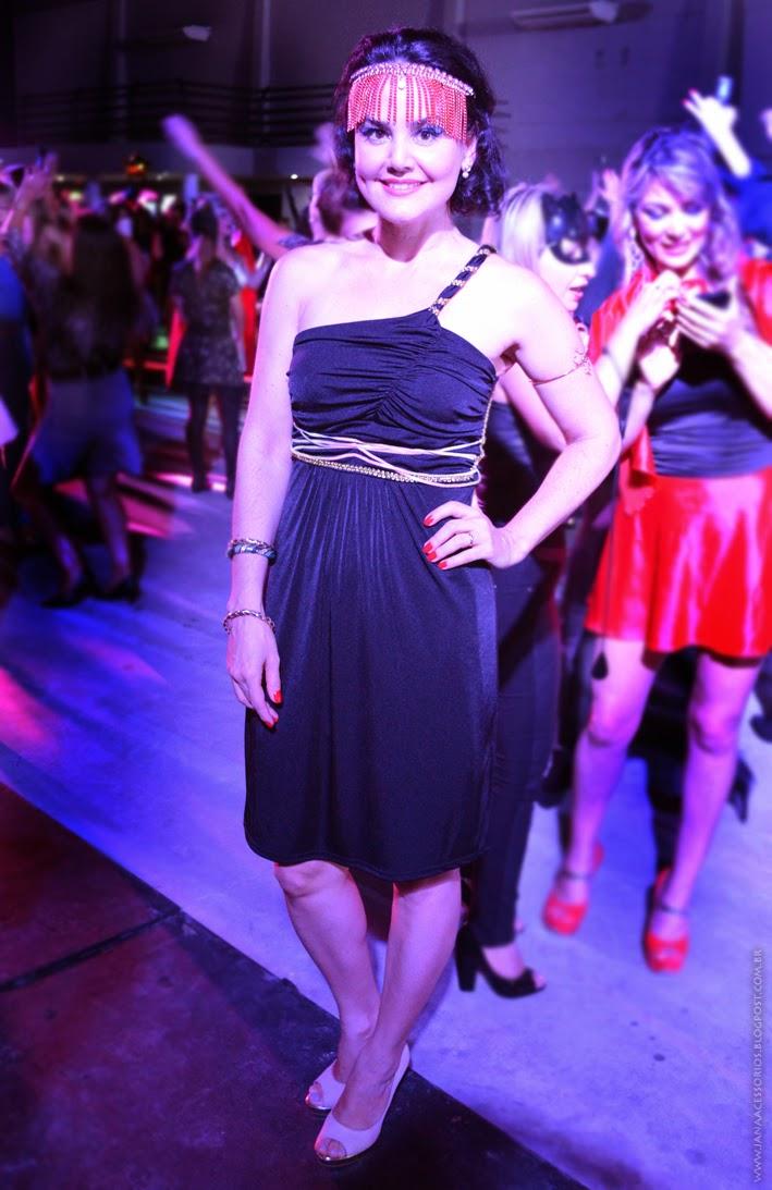 Estrelas com champanhe, Joinville, fantasia, egípcia, look da Jana, Blog da Jana