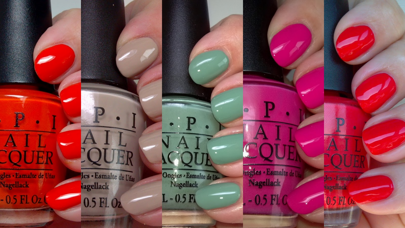 polish insomniac: OPI Holland - The Cremes - Swatches and Review