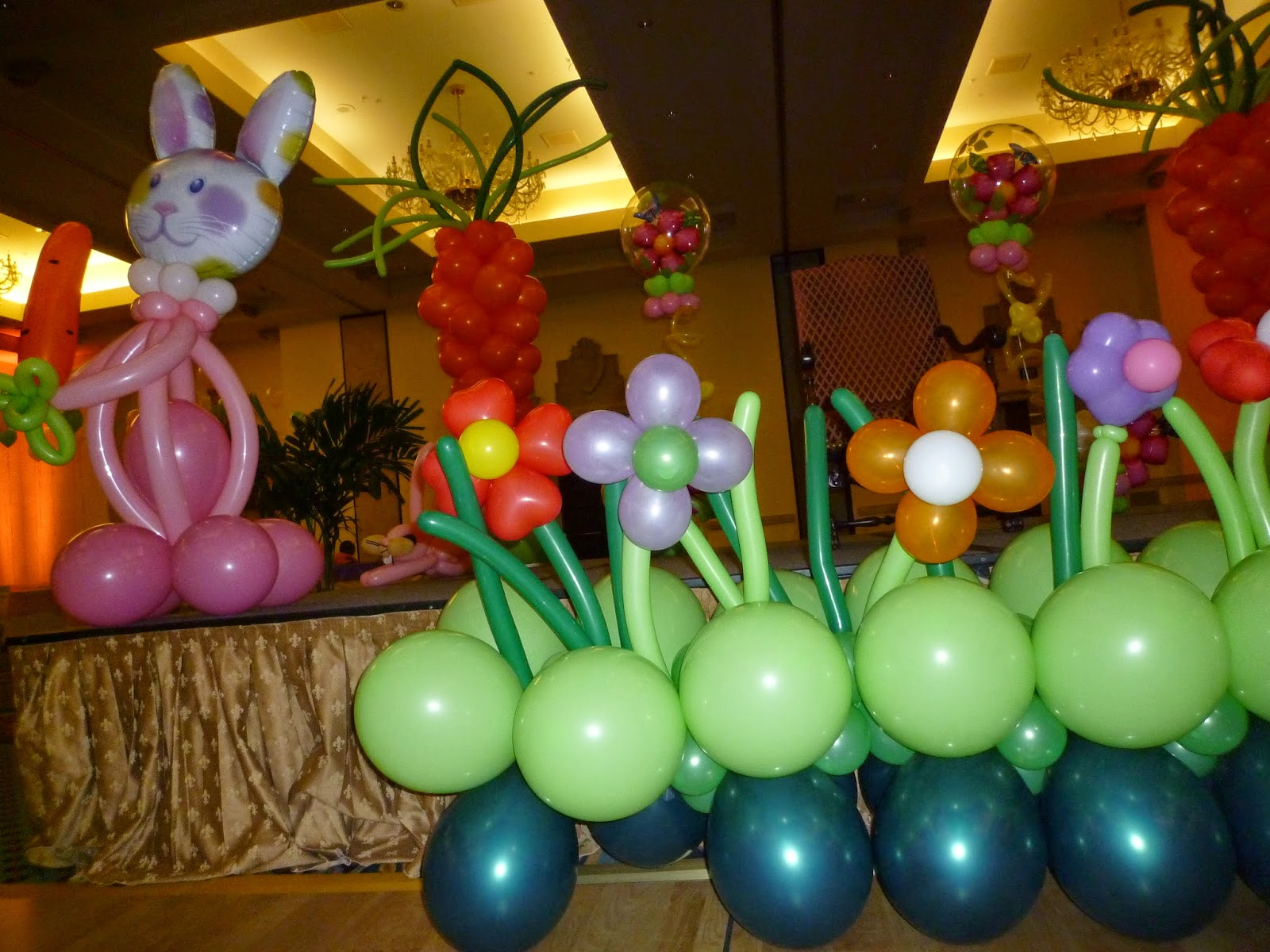 Easter Party Balloon Decoration Ideas