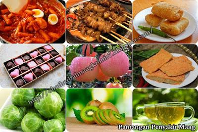 Pantangan Makanan Untuk Penderita Maag