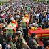 3 YPG savaşçısını binler uğurladı