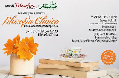 Palestra em São Leopoldo/RS com Dionéia Gaiardo