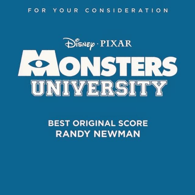 Chronological Scores / Soundtracks: Monsters University