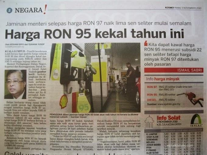 Rakyat Malaysia harus bersyukur.