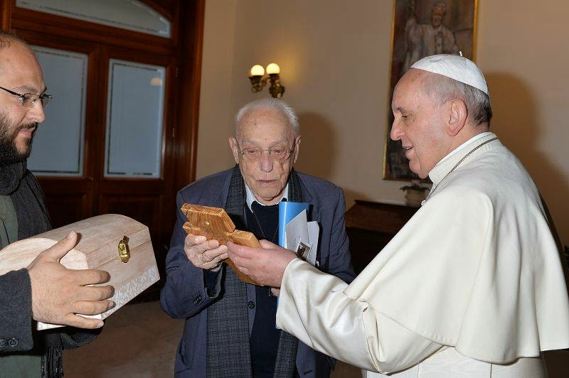 Don Michele is given the honor of reading the gospel at a Novus Ordo Missae  Mass he concelebrated with Francis at the Chiesa di Santa Marta in the  Vatican ...