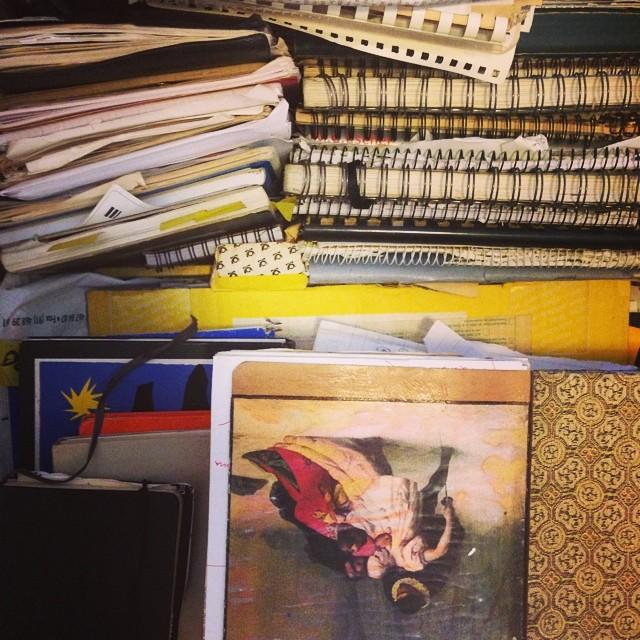 Los cuadernos de todo de Carlos Be