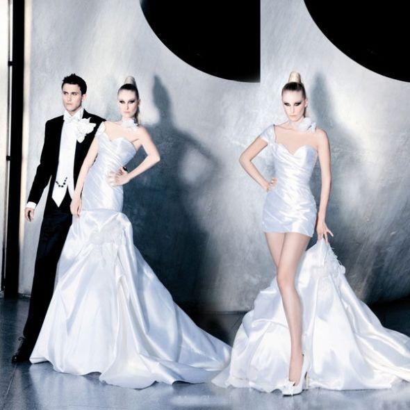WhiteAzalea 2 in1 Wedding Dresses: Beautiful and Cute 2 in 1 Wedding ...