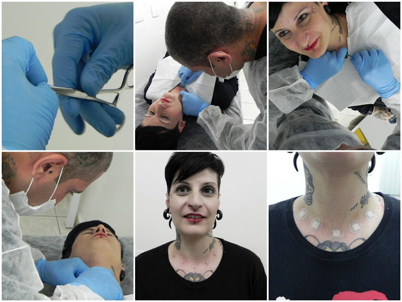 Piercings Exóticos confeccionados os melhores Metais voltados a  title=