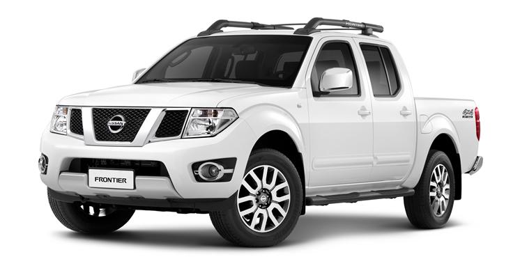 Nissan Frontier - Branco Glacial (Sólido)