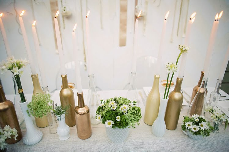 decoracao casamento garrafas de vidro:Decoracao Com Garrafas De Vidro