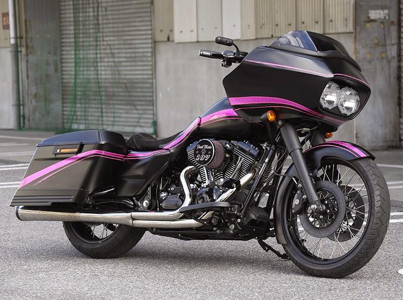 Racing Caf U00e8  Harley Fltr By Shaft