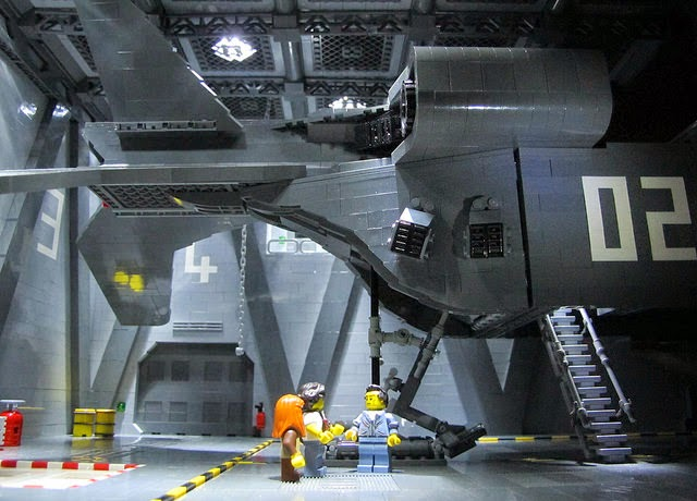 Scenes From Aliens Recreated With LEGO