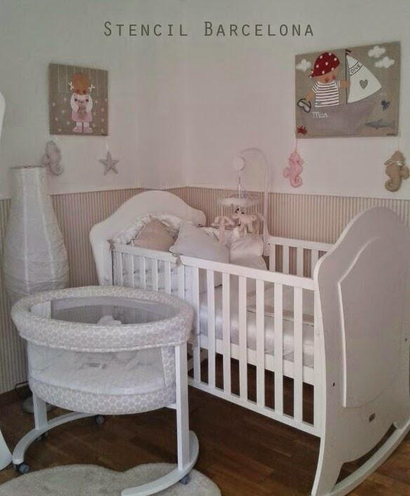 CUADROS PERSONALIZADOS: habitación del bebé