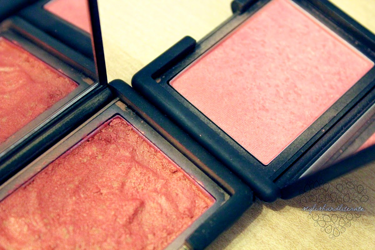 How to fix broken powder makeup with alcohol in four simple steps - The Repaired Orgasm Blush Looks Much Darker In The Pan Though This Is Partially Due To The Fact That It Wasn T Completely Dry When I Snapped This Shot