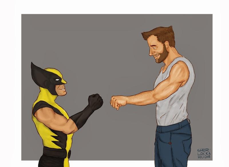 Wolverine vs Hugh Jackman