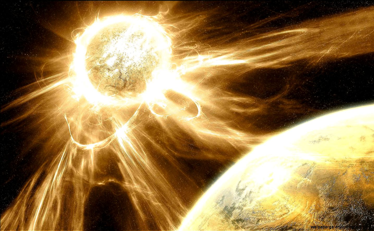 Space Art Supernova Hd Wallpapers