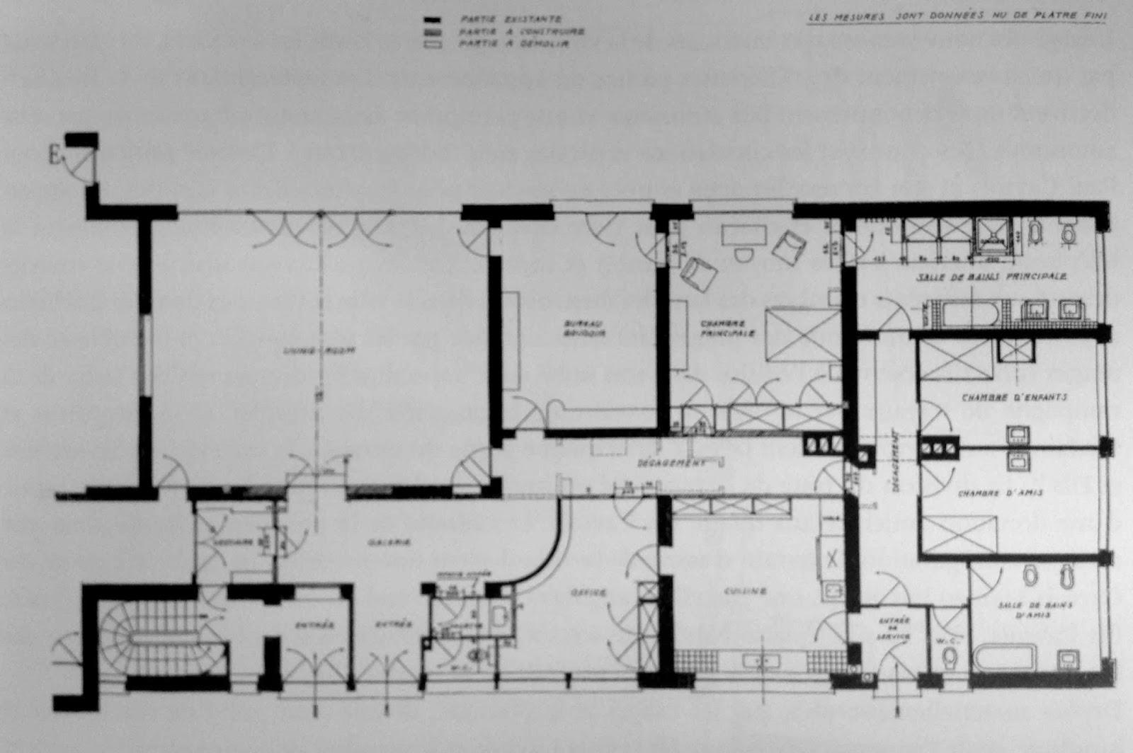 plan de maison moderne avec etage. Black Bedroom Furniture Sets. Home Design Ideas