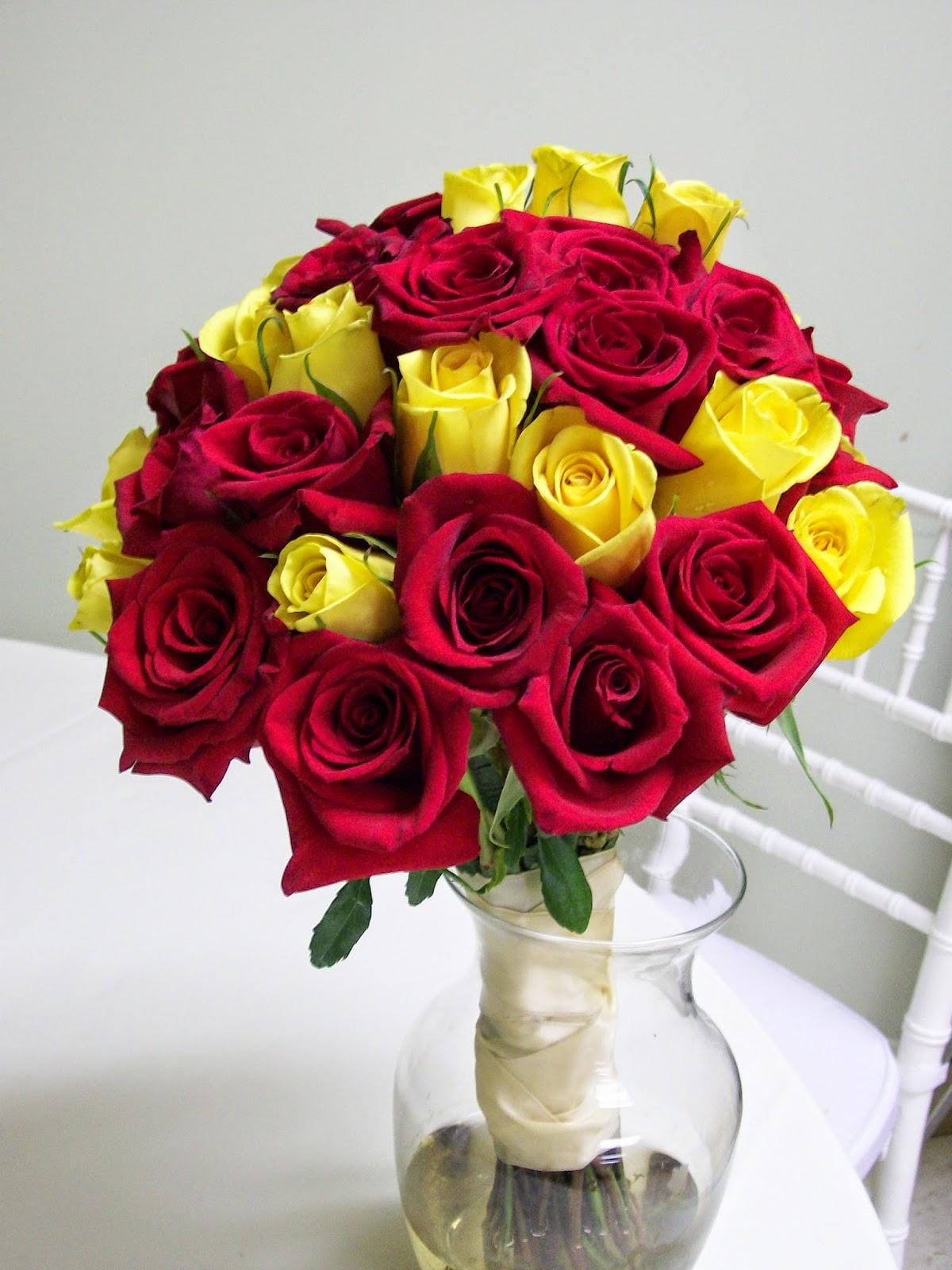 Yellow Flowers Bouquethttprefreshrosespot
