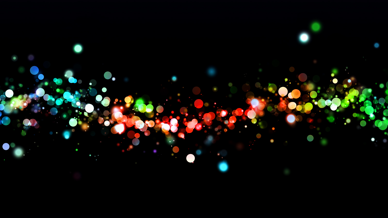 Hd Design String Lights : Abstract Light Circles Bokeh HD Wallpapers Desktop Wallpapers