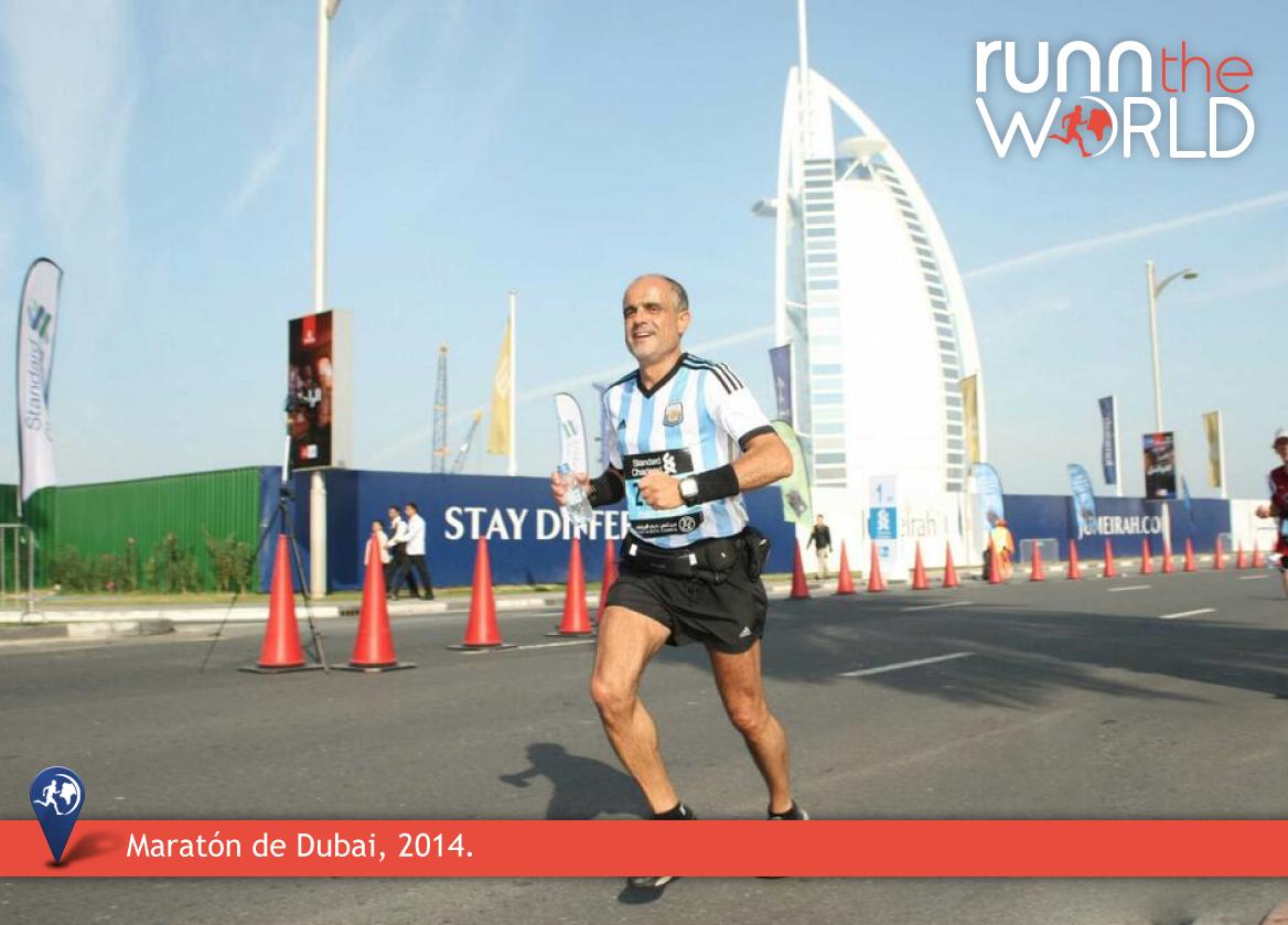 Daniel Arcucci Maratón Dubai 2014