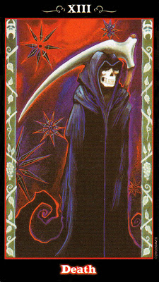 Death - The Vampire Tarot by Nathalie Hertz