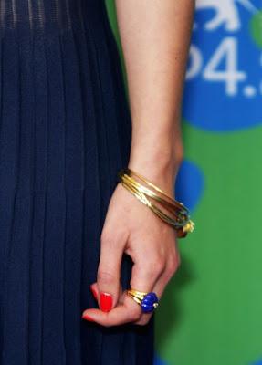 Keira Knightley Gold Bracelet